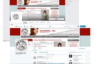 Správa sociálních sítí GALAMODA-XXL