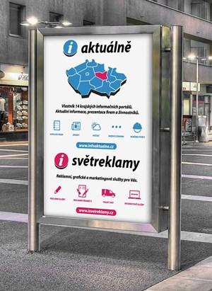 Venkovní reklamní banner